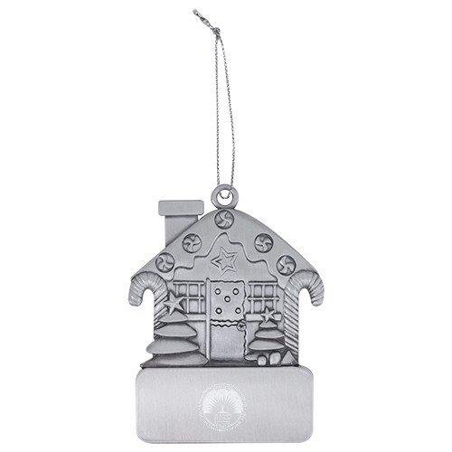 Kingsborough Pewter House Ornament (Lighthouse Pewter Ornament)
