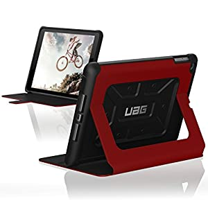 UAG Folio iPad 9.7 (2017 5th Gen & 2018 6th Gen) Metropolis Feather-Light Rugged [MAGMA] Military Drop Tested iPad Case