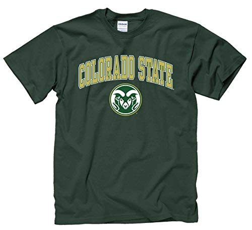 Colorado State Rams Arch & Logo Gameday T-Shirt - Green ()