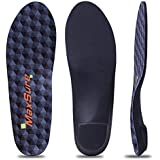 Plantar Fasciitis Flat Feet Orthotic High Arch Support Inserts Insoles Relieve Pronation Heel Ankle Foot Pain for Women Men (Mens 10-10 1/2 ▏Womens 12-12 1/2)