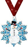 HOLIDAY AWARDS - 2.5'' Glitter Snowman Medal 50 Pack