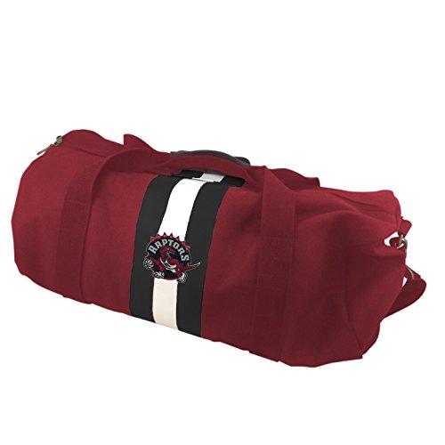 NBA Toronto Raptors Red Rugby Duffel Bag by Pangea Brands