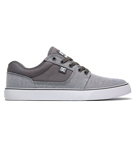 Gris Baskets TX Grey White Shoes Tonik Homme Se Mode DC wSB10B