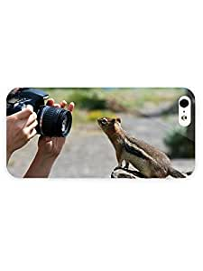 3d Full Wrap Case for iPhone 5/5s Animal Chipmunk70