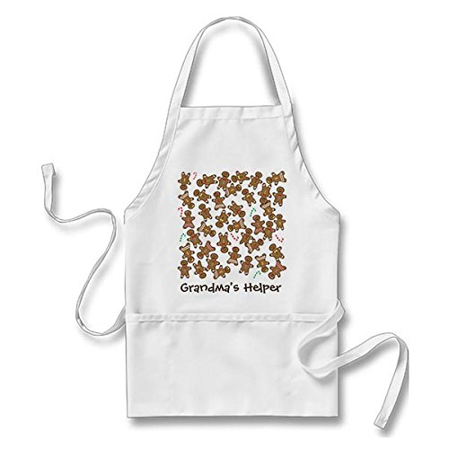 Simple Gingerbread Man Costume (Cute Christmas Holiday Gingerbread Cookies Adults' Apron)