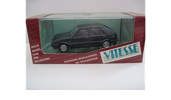 Amazon.com: Vitesse 362 Lancia Delta HF Turbo 4WD Stradale 1:43 Scale Diecast in Black: Toys & Games
