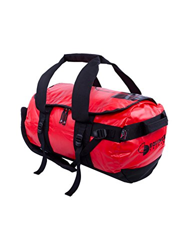 EQUINOX Extreme Duffle Waterproof Dry Bag 72 Litres, Red Color 1 pcs. by OriginalFromThailand