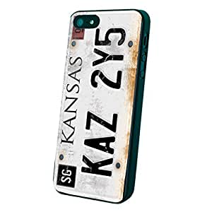 License Plate Supernatural Custom Case for Iphone 5/5s/6/6 Plus (Black iPhone 5/5s)