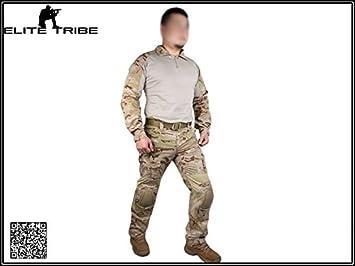 Hombres de Caza Paintball Airsoft Militar Uniforme de Combate gen2 ...