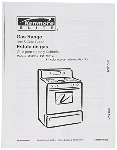 Owners Manuals Frigidaire - Frigidaire 316258037 Range/Stove/Oven Owner Manual