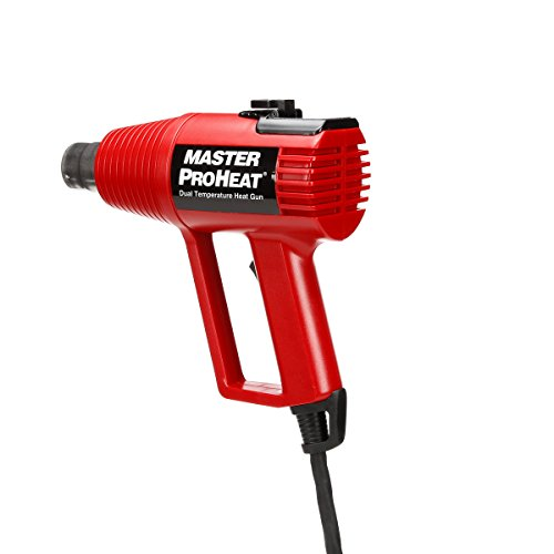 Master Appliance Proheat PH-1100 Dual Temp Professional Heat Gun, 500 and 1000-Degree Fahrenheit 120V 1300 Watts by Master Appliance (Image #2)