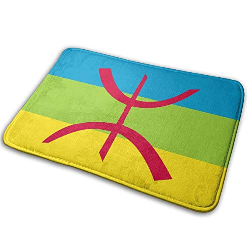Berber Flag Non-Slip Indoor Outdoor Welcome Doormats Area Rug 5.7