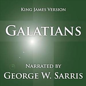 The Holy Bible - KJV: Galatians Audiobook