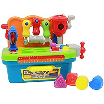 BOLEY Learning Workbench Toy for Kids - Educational Toys for Toddlers With Bright Colored Buttons and Learning Tools and Shapes - Perfect Toy for Girls and Boys!