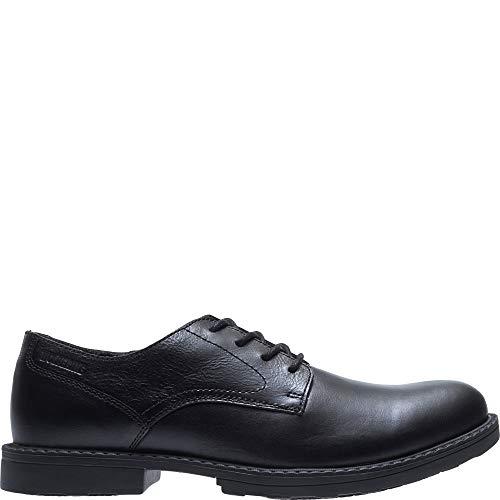(Wolverine Men's Bedford Steel-Toe Oxford SR Industrial Shoe, Black, 11 Extra Wide US)