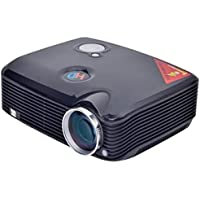 Sourcingbay PRJ-PH5-B Home Theater Led Projector, Black