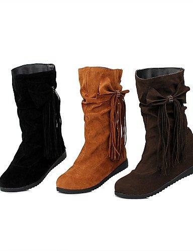 La Eu39 Uk3 Brown Khaki Exterior Oficina Mujer Cn39 5 Trabajo Moda us8 Zapatos Cn35 Comfort Casual Xzz us5 Y Semicuero negro De Plataforma Eu36 Botas Vestido A Uk6 5 qw0BxHT