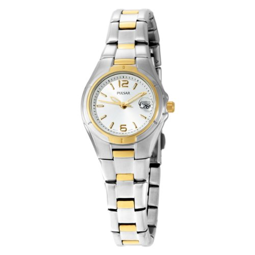 Pulsar Women's PXT638 Dress Sport Two-Tone Stainless Steel ()