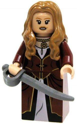 LF13-B3 LEGO Pirates of the Caribbean LOOSE Mini Figure Elizabeth Swann [Cutlass] (Lego Swann Elizabeth)