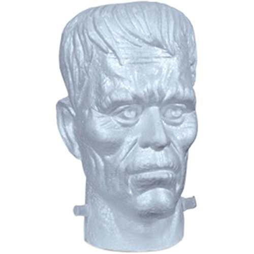 FloraCraft EPS Foam Frankenstein Head 6 Inch x 6.6 Inch x 9.6 Inch White]()