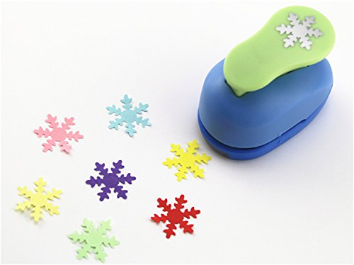 CADY Crafts Punch 1-Inch paper punches (Snowflake)