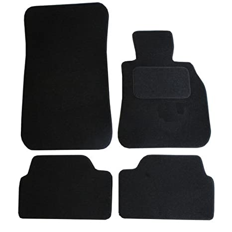 Black JVL Fully Tailored Car Mat Set 4 Pieces