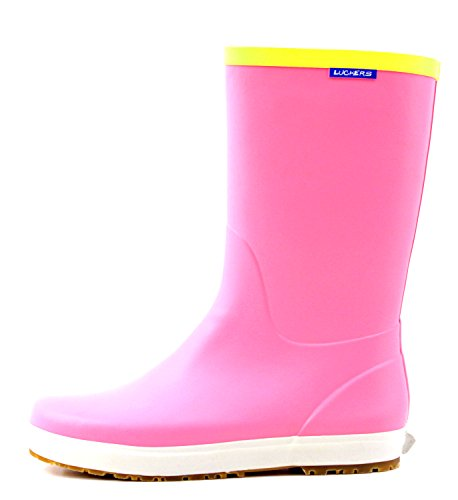 Womens Rain Wellies Foldable Boots Pink A Luckers Luckers Womens wEqvt1XE