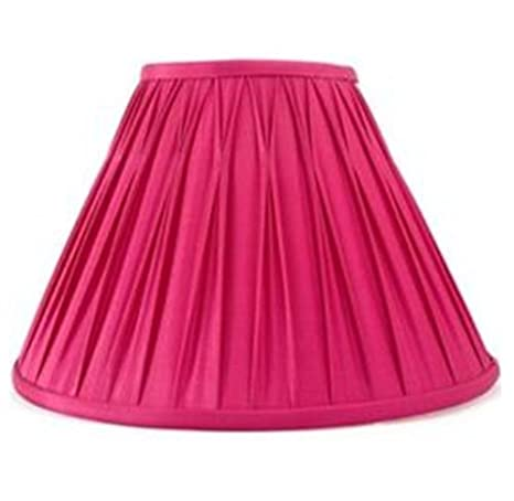 12 Laura Ashley Fenn Pleat Silk Cerice Pink Ceiling Light Table