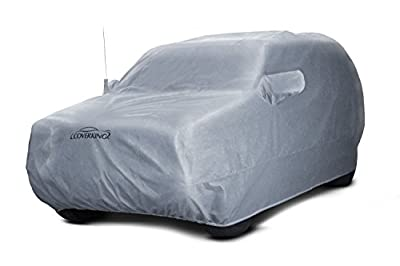 Coverking Custom Fit Car Cover for Select Audi Q7 Models - Silverguard Plus (Silver)