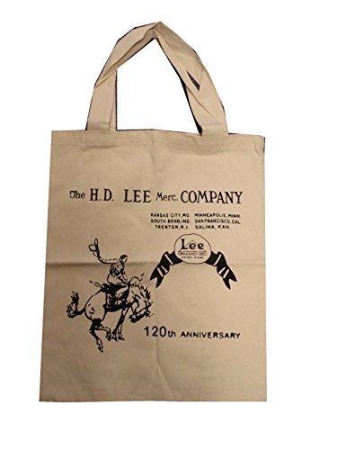 LEE JEANS borsa tela Shopping/borsa da spiaggia - crema