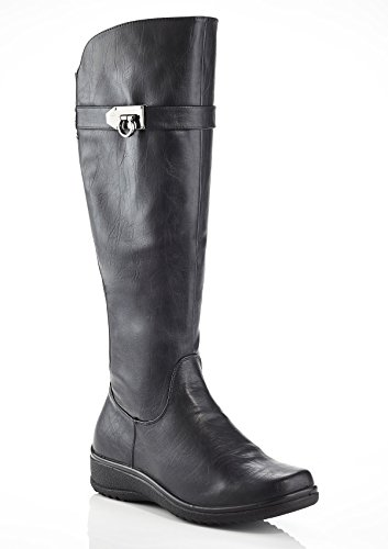 Low Cut Riding Boots - 9