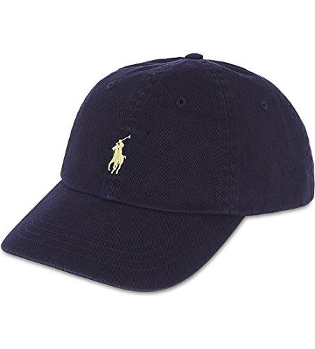 Polo Ralph Lauren Men/Women Cap Horse Logo/Adjustable Navy Blue/Yellow (Polo Ralph Lauren Womens Hat)