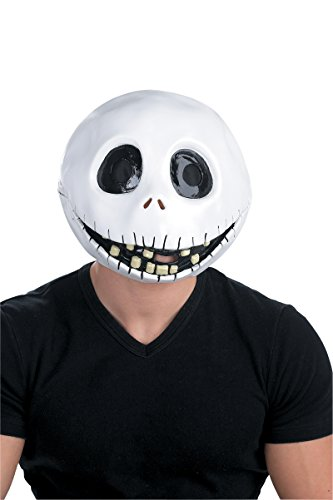 (2104/39 Jack Skellington Mask White)