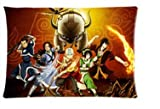 """FFfghdde Cartoon Avatar the Last Airbender Pillowcases Custom 20""""x30"""" Two Sides Cool Comfortable Pillow Case"""