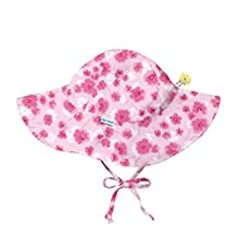 I-Play baby-girls Baby Brim Sun Protection Hat - F