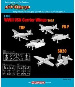 1/700 WW.II アメリカ海軍 艦載機セットA