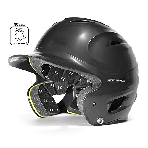 - Under Armour Classic Solid Molded Batting Helmet