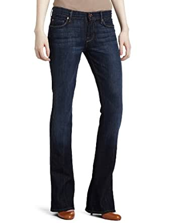 7 For All Mankind Women's Kaylie Slim Fit Jean in Midnight New York Dark, Midnight New York Dark, 24