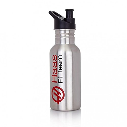 Haas American Team Formula 1 Motorsports Silver Water, used for sale  Delivered anywhere in USA
