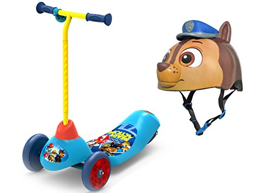 Viking Costume Walmart (Paw Patrol Safe Start Kids 3-Wheel Electric Scooter with Bell Sports Paw Patrol Kids/Toddler Helmet)