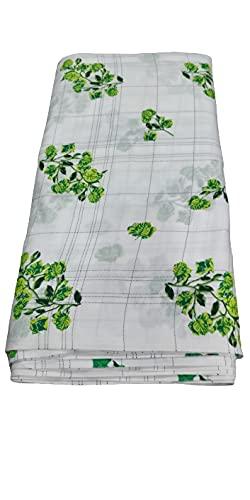 women printed cotton dress material
