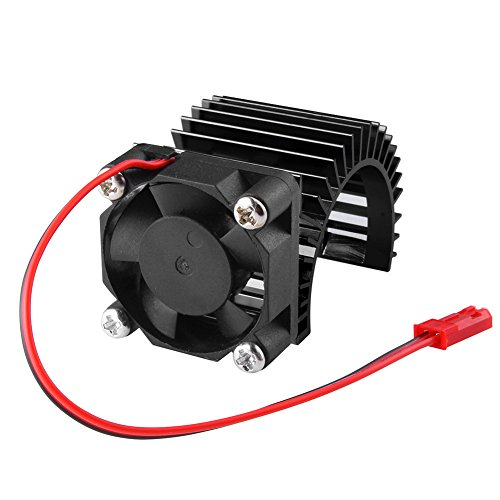 - Brushless Electric Engine Motor Heatsink with Cooling Fan RS540 550 540 Size 5-6V Heat Sink for Remote Control RC Hobby Car Truck Buggy Crawler