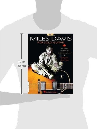 Amazon.com: Miles Davis for Solo Guitar (9780634023026): Miles Davis ...