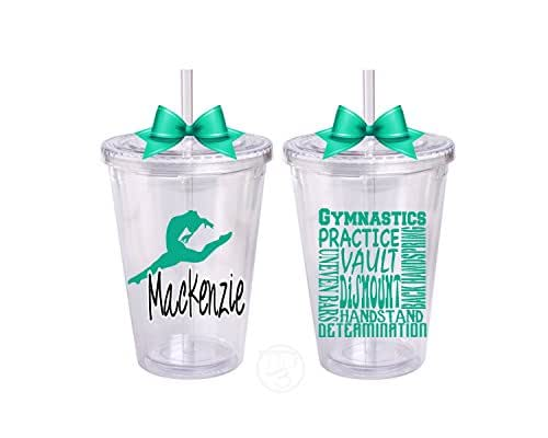 Gymnastics Bottle- Custom Gymnastics Tumbler