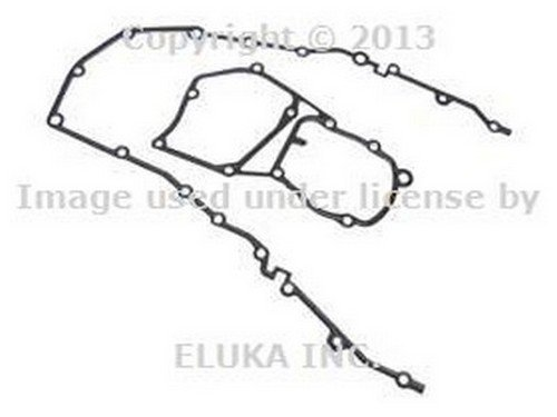 E36 Cover Timing Gasket (BMW OEM Upper and Lower Chain Case Cover Gasket Set E36 318i 318is 318ti 318i 318is 318ti)