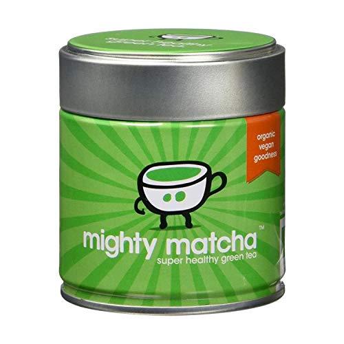 Mighty Matcha Te Verde Matcha Ecologico – Te Matcha Ceremonial 100% Organico – Premio de Oro Great Taste – Infusion Natural Quemagrasa - 30g