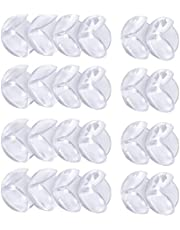 Cunina Corner Protector, 8-pack Transparent Baby Proofing Safety Corner Edge Guards, Furniture Table Sharp Corner Guard Protectors Bumper for Baby Child Kids