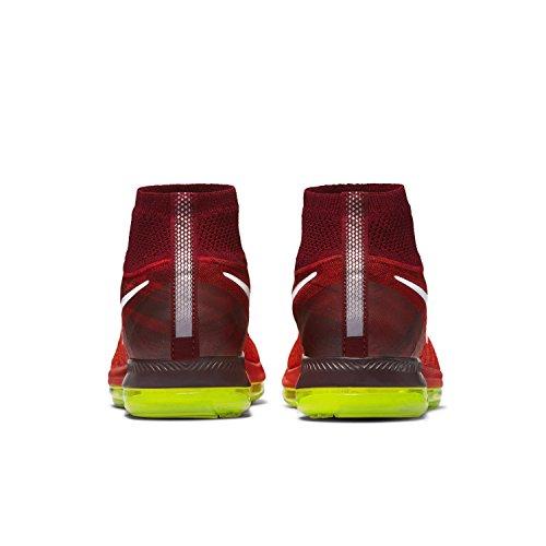 Nike Kvinna Zooma Alla Ut Flyknit Löparskor Ljus Crimson / Lag Röd / Volt / Vit