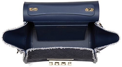 Crossbody Top Denim ZAC Posen Iconic Handle Zac Eartha qOaxSF