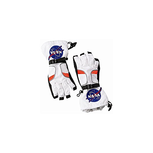 Jr. Astronaut Space Gloves Costume Accessory - Large
